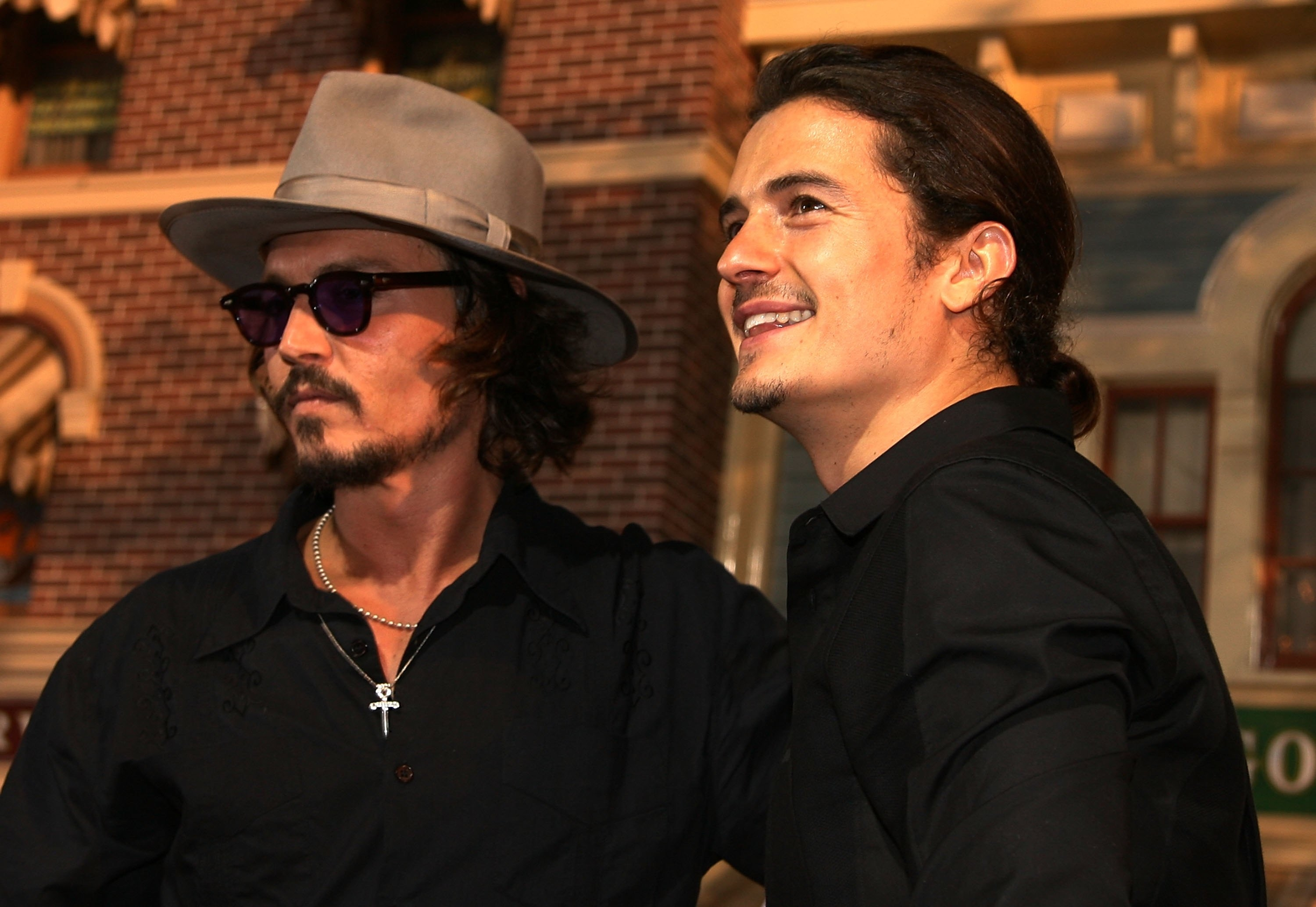 Johnny Depp Orlando Bloom Premiere Pirates in. - Just Jared Pictures of johnny depp and orlando bloom